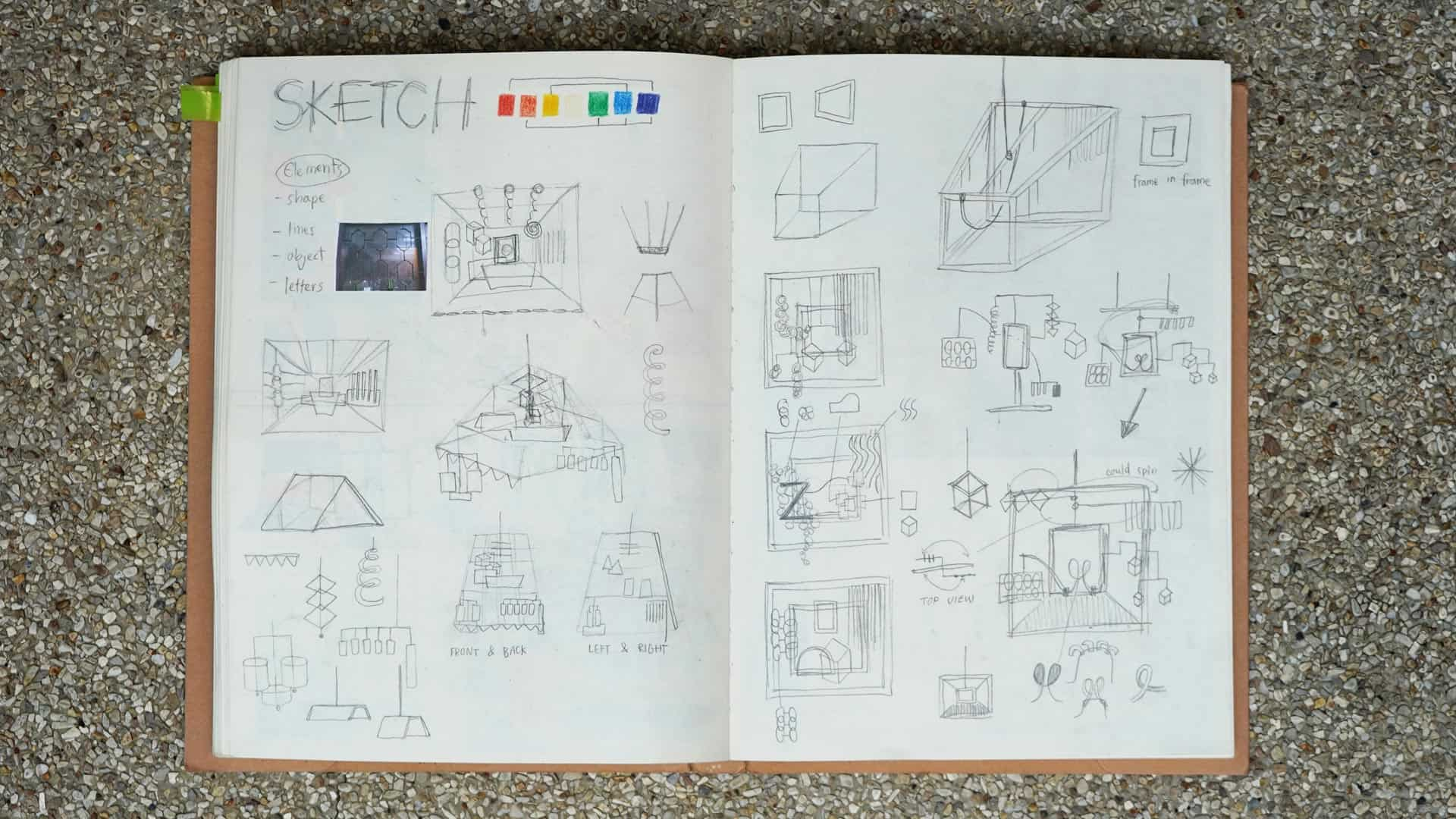 Materials, Prcesses and Drawing journal